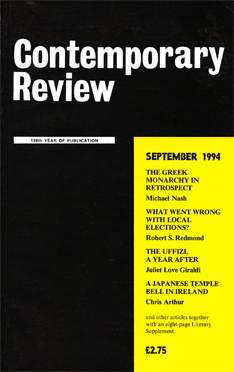 Contemporary Review, September 1994