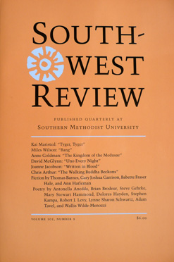 Southwest Review, Vol.101