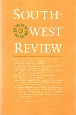 Southwest Review, Vol.89