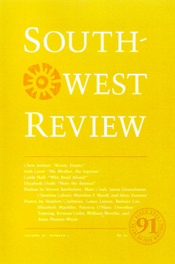 Southwest Review, Vol.91