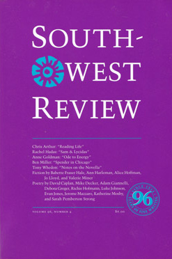 Southwest Review, Vol.96