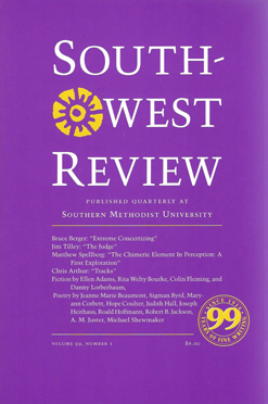 Southwest Review, Vol.99