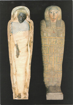 Egyptian mummy Takabuti